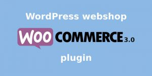 WordPress webshop WooCommerce plugin